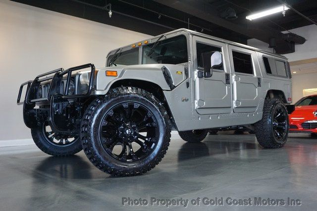 2003 HUMMER H1 4-Passenger Wagon Enclosed - 19302168 - 31