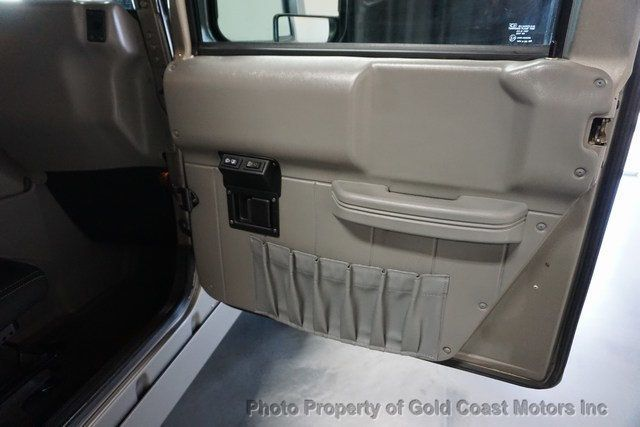 2003 HUMMER H1 4-Passenger Wagon Enclosed - 19302168 - 38