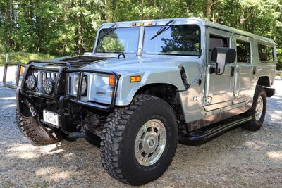2003 HUMMER H1 WAGON COMPLETE SERVICE HISTORY FACTORY PAINT SUV