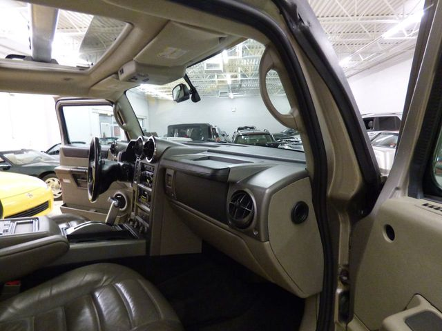 2003 HUMMER H2 LS2 6.0 V8 AIR SUSPENSION 3RD ROW SEATING - Click to see full-size photo viewer