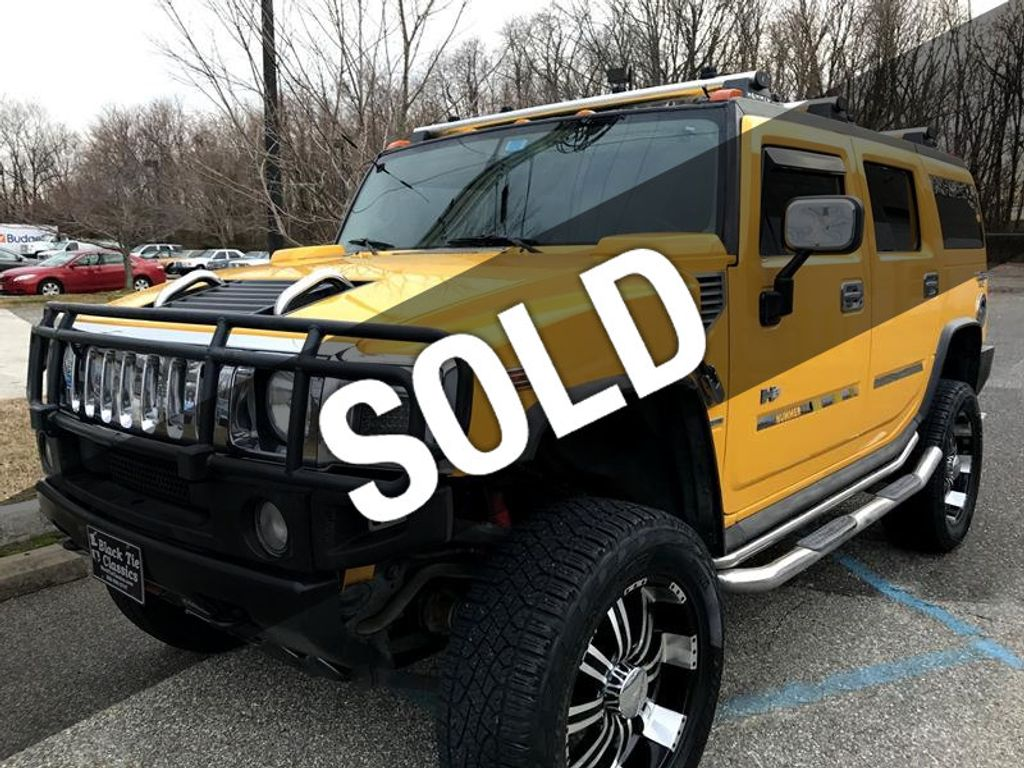 2003 Used HUMMER H2 SPECIAL EDITION at WeBe Autos Serving Long ...
