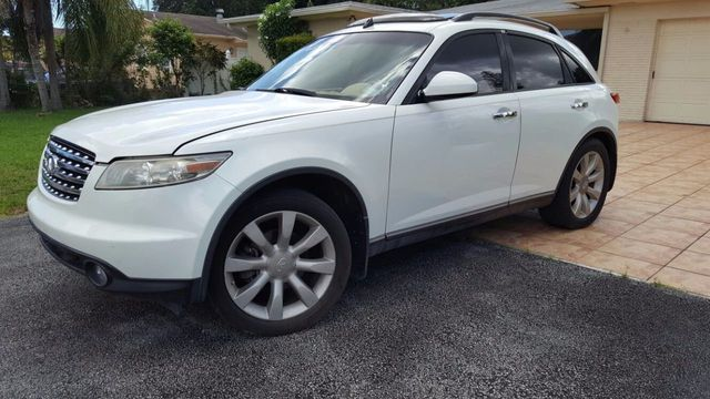 2003 Used Infiniti Fx35 2wd Woptions At A Luxury Autos Serving