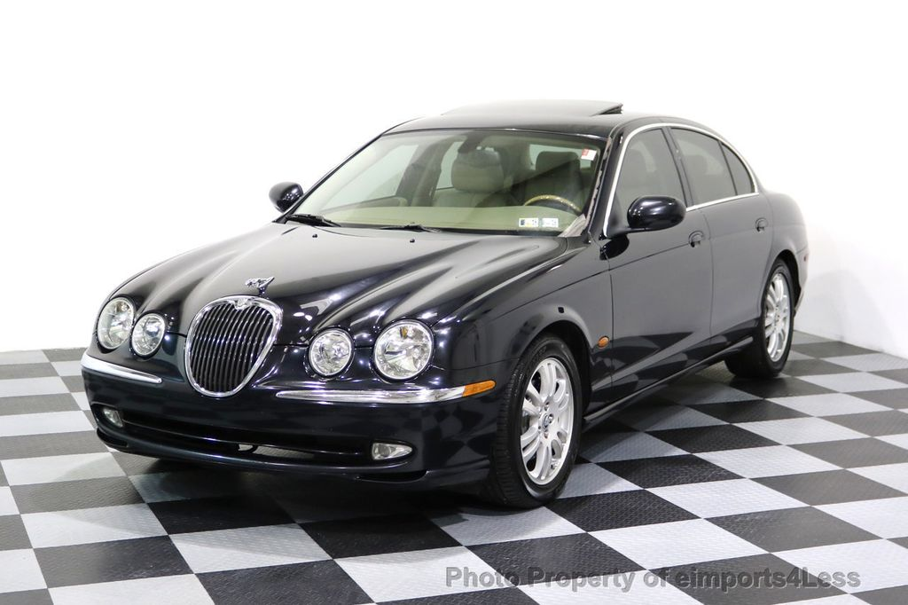 2003 Jaguar S Type 4dr Sedan V8   17227902   0