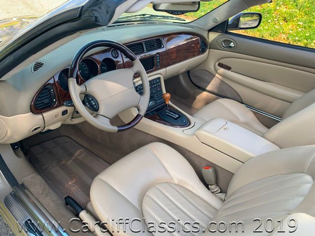 2003 Jaguar XK8 2dr Convertible XK8 - Click to see full-size photo viewer