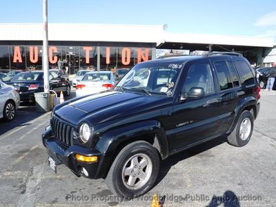 2003 Jeep Liberty Sport >> 2003 Used Jeep Liberty 4dr Limited 4wd At Woodbridge Public Auto Auction Va Iid 19573228