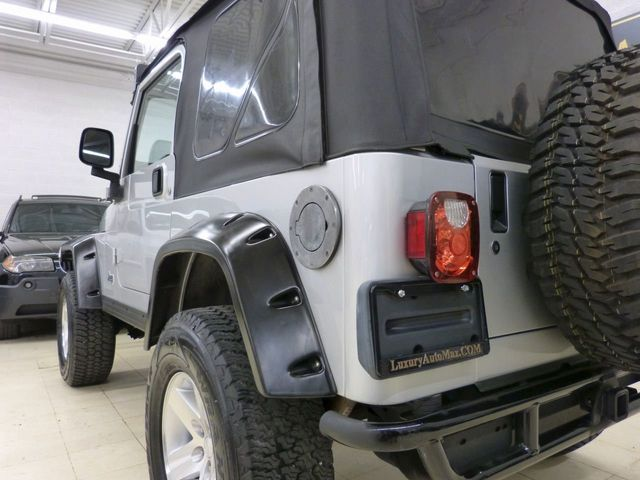 2003 Jeep Wrangler 2dr X - Click to see full-size photo viewer