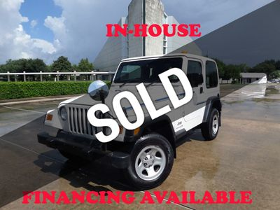 2003 Jeep Wrangler THIS IS ORIGINAL POSTAL RHD JEEP, 4X4, 1-Owner, 139k miles - Click to see full-size photo viewer