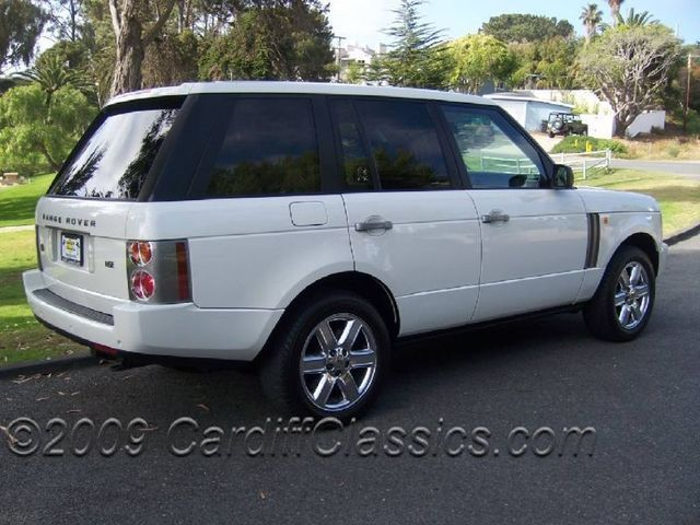 2003 used land rover range rover hse at cardiff classics serving encinitas iid 4274359. Black Bedroom Furniture Sets. Home Design Ideas