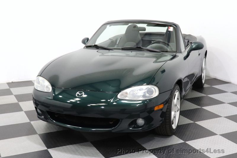 2003 Mazda MX-5 Miata CERTIFIED MX-5 MIATA 1 OWNER VEHICLE - 18657896 - 48