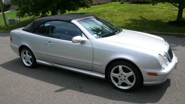2003 Mercedes Benz Clk Clk430 2dr Cabriolet 4 3l Convertible Wdblk70g53t140253 2