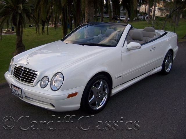 2003 used mercedes benz clk class sport at cardiff for Used mercedes benz clk