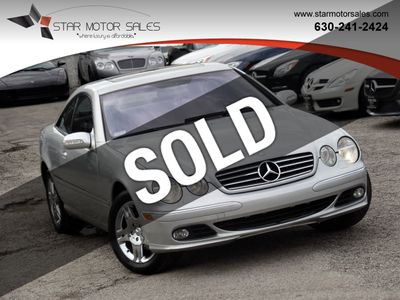 2003 Mercedes-Benz CL-Class CL500 2dr Coupe 5.0L