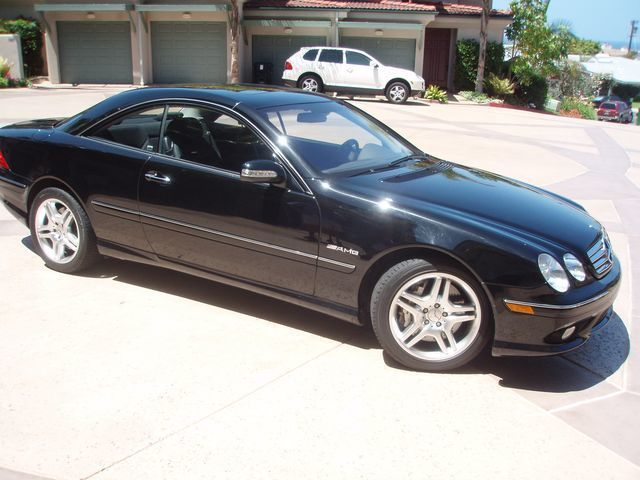 2003 used mercedes benz cl55 amg at sports car company for Mercedes benz la jolla