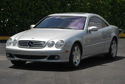 2003 Mercedes-Benz CL-Class CL600 TURBO COUPE 5.5L - Click to see full-size photo viewer