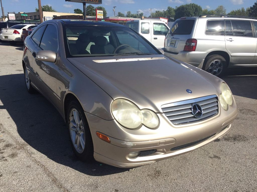 2003 Used Mercedes Benz C Class C230 2dr Coupe 18l At Best Choice E320 Fuel Filter 16657883 21