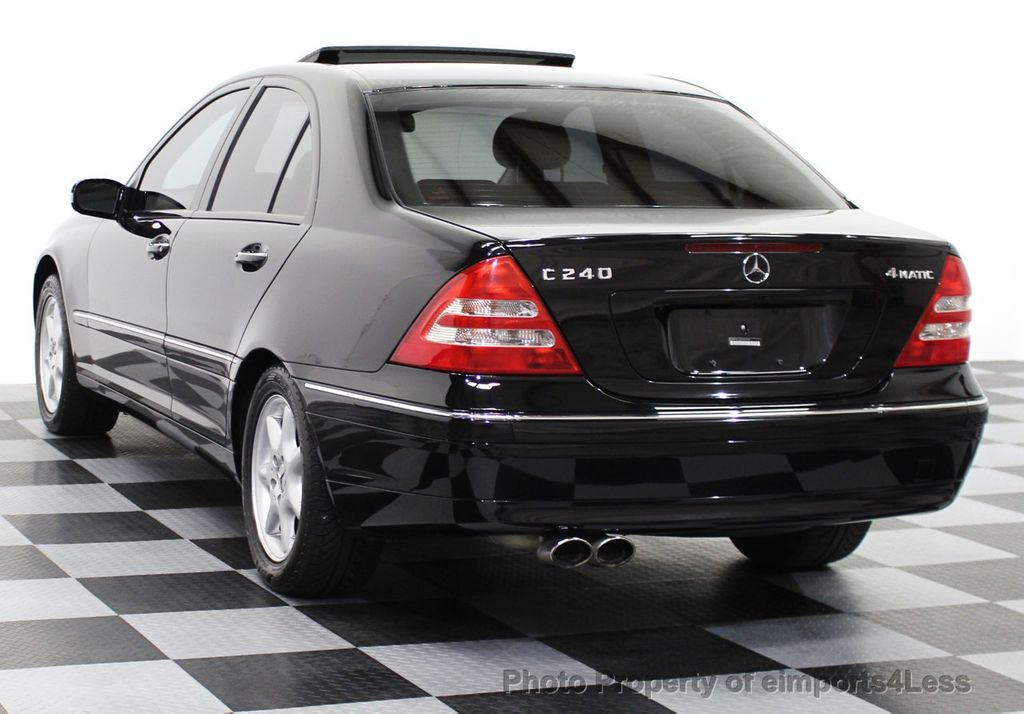 2003 used mercedes benz c class c240 4matic awd bluetooth navigation at eimports4less serving. Black Bedroom Furniture Sets. Home Design Ideas