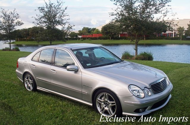 2003 Mercedes-Benz E55 AMG W211 SUPERCHARGED V8 KOMPRESSOR MONSTER!! - Click to see full-size photo viewer