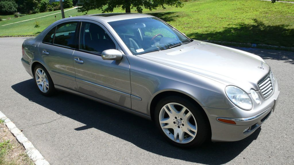 2003 used mercedes benz e class e500 4dr sedan 5 0l at for 2003 mercedes benz e class sedan