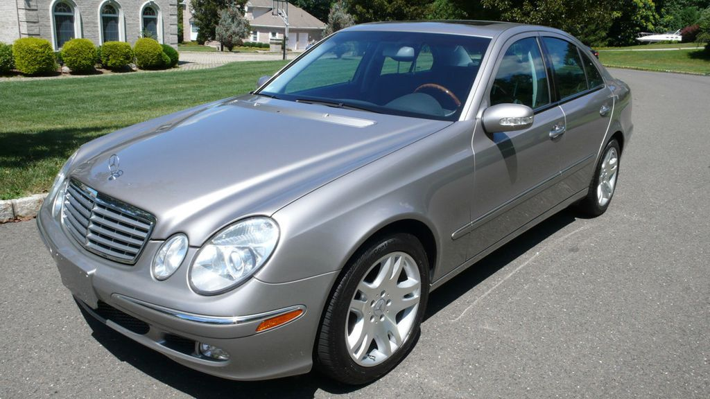 2003 used mercedes benz e class e500 4dr sedan 5 0l at find great cars serving ramsey nj iid. Black Bedroom Furniture Sets. Home Design Ideas