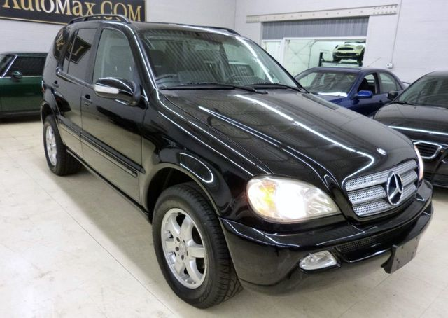 2003 used mercedes benz m class ml350 4dr awd 3 5l at luxury automax serving chambersburg pa. Black Bedroom Furniture Sets. Home Design Ideas