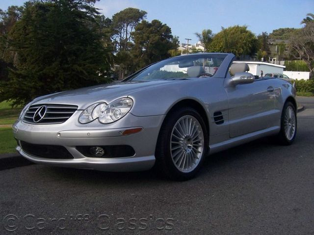 2003 used mercedes benz sl class sl500 at cardiff classics for Used mercedes benz sl