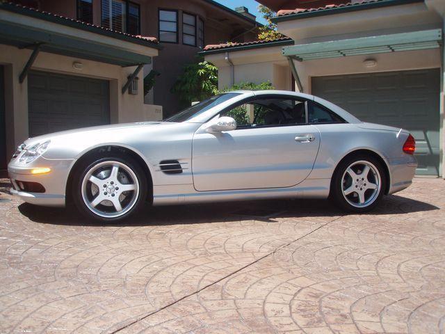 High Quality 2003 Used Mercedes Benz SL Class SL500 At Sports Car Company, Inc. Serving  La Jolla, IID 1755916