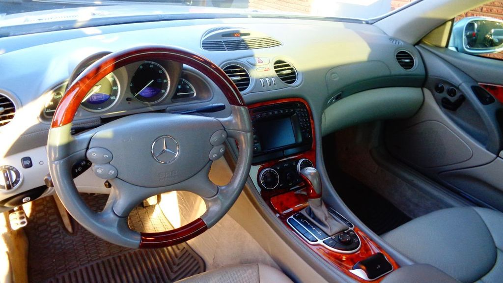 Delightful 2003 Mercedes Benz SL Class SL500 2dr Roadster 5.0L   17401692   15