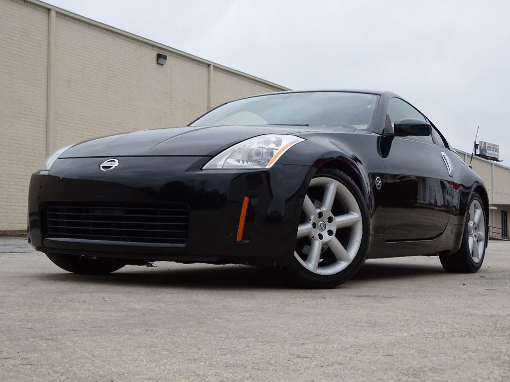 2003 used nissan 350z 2dr coupe touring manual trans at one and only