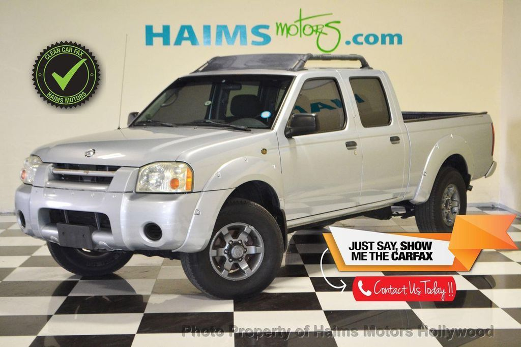 2003 Nissan Frontier 2WD SE Crew Cab V6 Automatic Long Bed   13039823