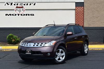2003 Nissan Murano 4dr SL AWD V6 CVT Automatic w/Options - Click to see full-size photo viewer
