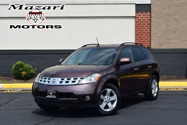 2003 Nissan Murano 4dr SL AWD V6 CVT Automatic w/Options