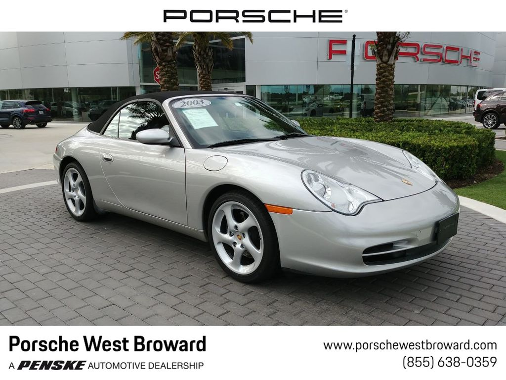 2003 Used Porsche 911 Carrera 2dr Carrera Cabriolet 6 Speed Manual At Porsche West Broward Serving South Florida Hollywood Fort Lauderdale Fl Iid
