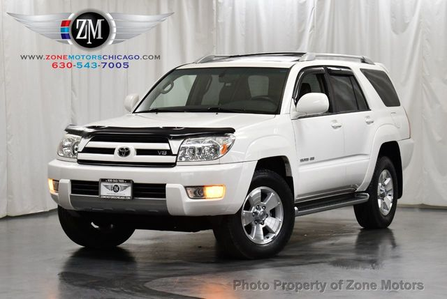 2003 Used Toyota 4runner 4dr Limited V8 Automatic 4wd At Zone Motors Serving Addison Il Iid 19705416