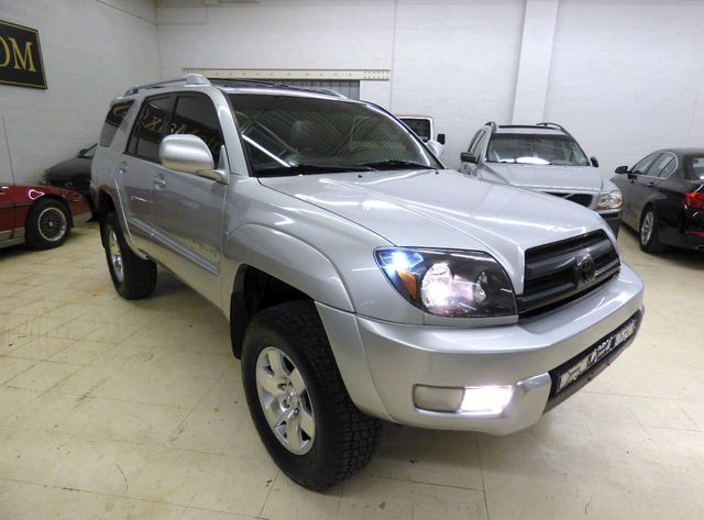 2003 Toyota 4Runner 4 INCH SUSPENSION LIFT 4 NEW TIRES LIKE NEW - Click to see full-size photo viewer
