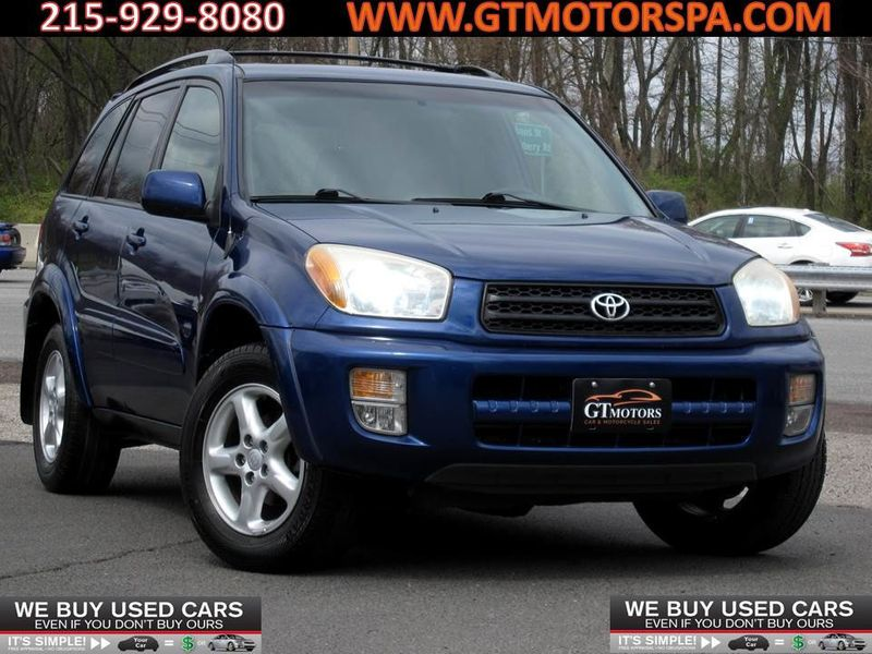 2003 Used Toyota RAV4 4dr Automatic 4WD at GT Motors PA Serving  Philadelphia, IID 18758152
