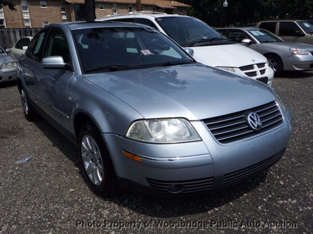 2003 Volkswagen Passat 4dr Sedan GLS Manual - 16731163 - 1