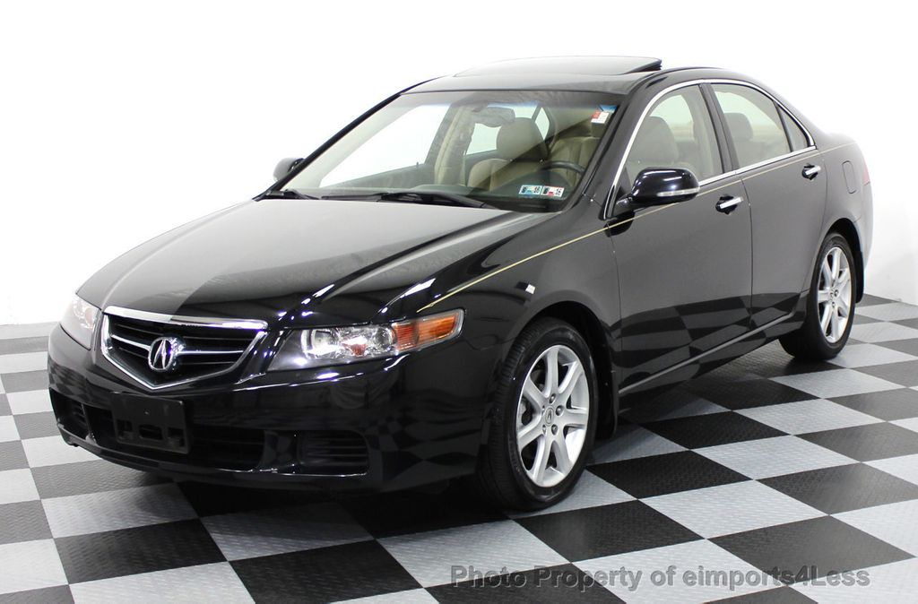2004 Used Acura TSX Sedan with NAVIGATION at eimports4Less Serving