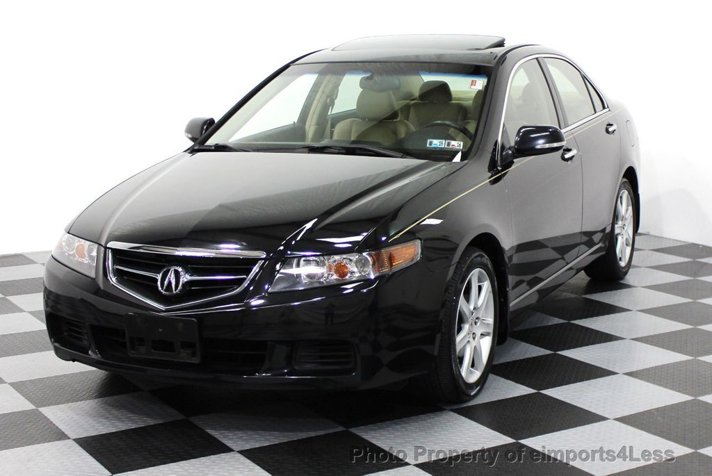 2004 Used Acura TSX Sedan with NAVIGATION at eimports4Less Serving ...