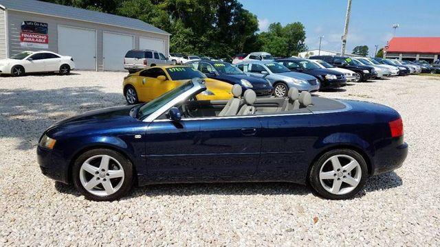 2004 Audi A4 2dr Cabriolet 1 8t Cvt Convertible Wauac48h54k016439 2