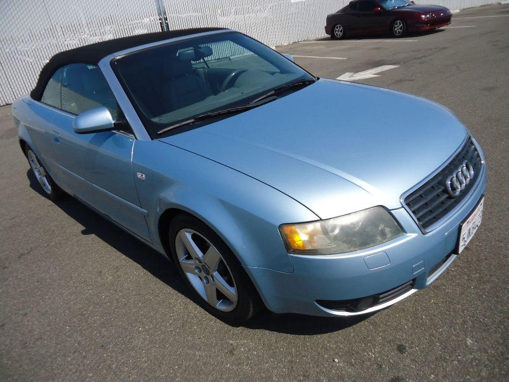 2004 Audi A4 2dr Cabriolet 1 8t Cvt 16697627 0