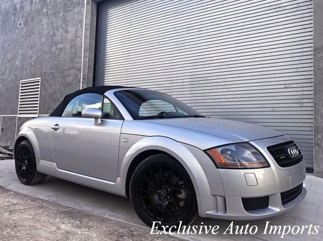 2004 Audi TT Roadster AUDI TT QUATTRO 4WD ROADSTER S-LINE CONVERTIBLE 3.2L V6 VR6 - Click to see full-size photo viewer