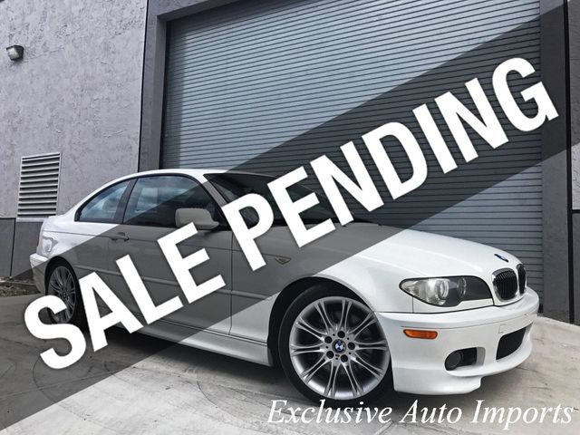 2004 BMW 3 Series 2004 BMW E46 330Ci 330i COUPE ZHP M PERFORMANCE PACKAGE