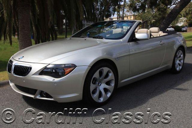 2004 used bmw 6 series 645ci at cardiff classics serving encinitas rh cardiffclassics com Black 2004 BMW 645Ci Wheels for 2005 BMW 645Ci