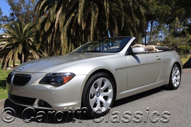 2004 used bmw 6 series 645ci at cardiff classics serving encinitas rh cardiffclassics com 2005 BMW 6 Series Convertible 2004 BMW 645Ci Review