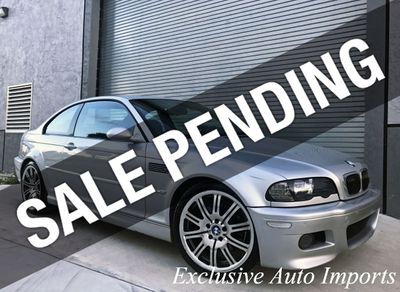 2004 BMW M3 E46 M3 SMG COUPE RECENT MAINTENANCE ENTHUSIAST-OWNED