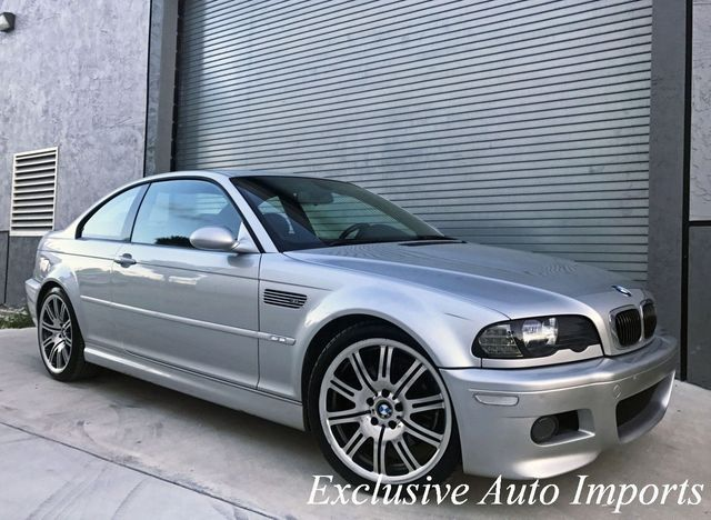 2004 BMW M3 E46 M3 SMG COUPE RECENT MAINTENANCE ENTHUSIAST-OWNED - Click to see full-size photo viewer