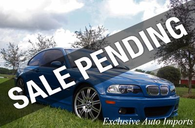 2004 BMW M3 RARE E46 M3 LSB ON BLACK 6-SPEED MANUAL!  Coupe