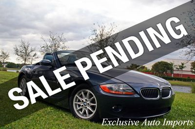 2004 BMW Z4 2004 BMW Z4 E85 2.5L ROADSTER 5-SPEED ULTRA RARE INTERIOR Convertible