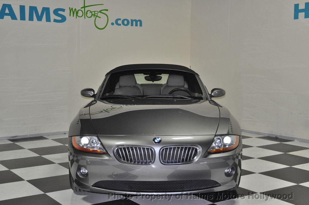 2004 Used Bmw Z4 3 0i At Haims Motors Serving Fort Lauderdale Hollywood Miami Fl Iid 12610937