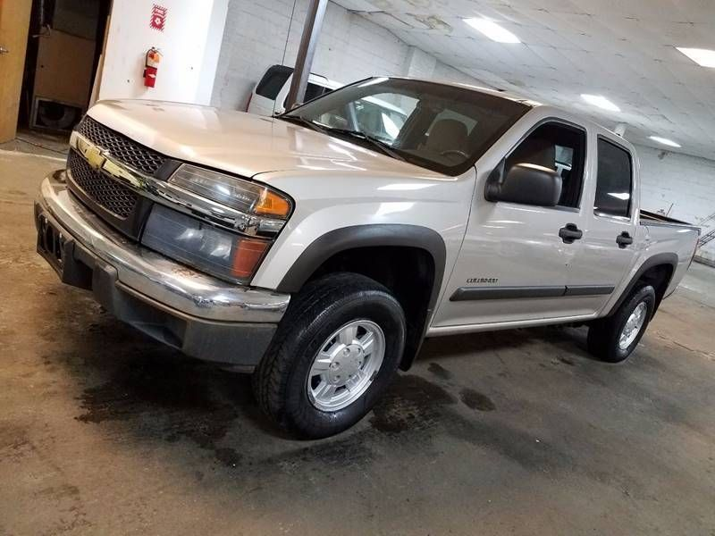 2004 Used Chevrolet Colorado 4x4 Crew Cab Ls Z85 At Contact Us